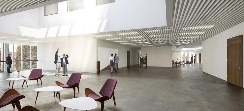 Un aperçu du futur Nouvel Hôpital Judiciaire. Source : Isler Gysel Architekten, Zürich.