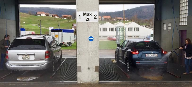 Le phénomène fait l'affaire des stations de lavage de voitures...