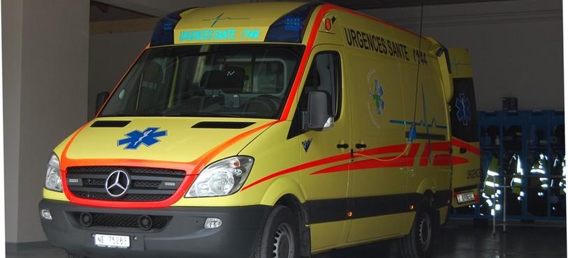Ambulance du SDIS Valtra