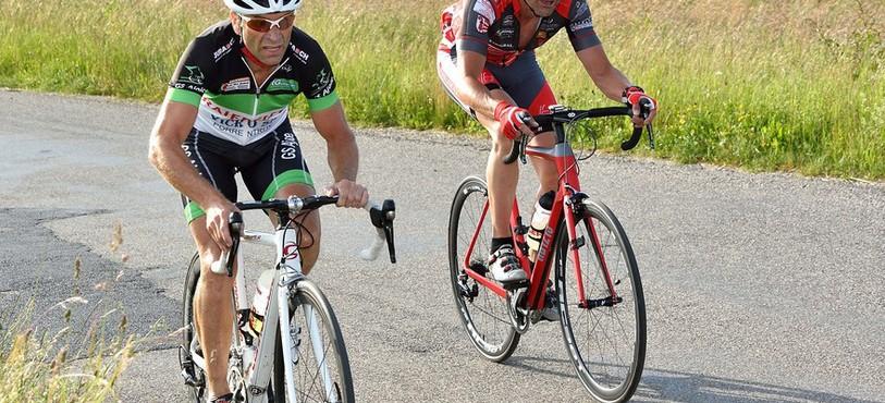 Fabrice Hertzeisen (en rouge) et Christian Rémy
