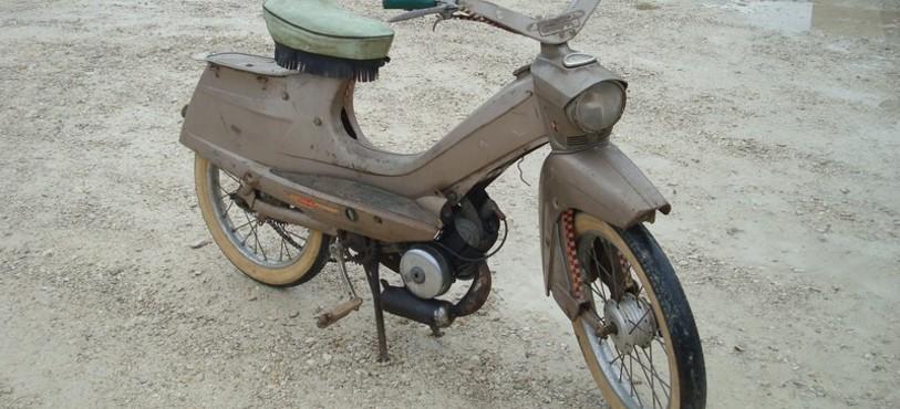 Premier cyclomoteur de Peugeot