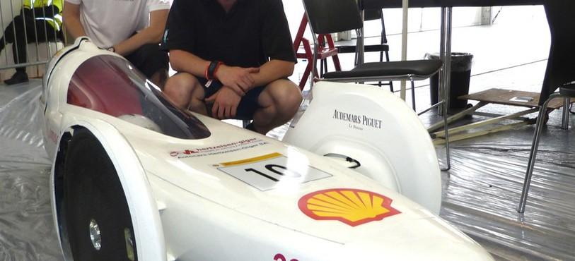 Le prototype de la HE-ARC, avec Julien Migy et Jonathan Gosteli