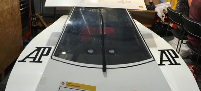 Le prototype avec la Coupe