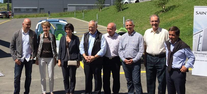 Le Conseil fédéral a visité le Parc technologique III à St-Imier.