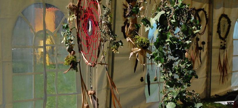 Exemple de décoration pour cette 21e édition du festival Hors Tribu.