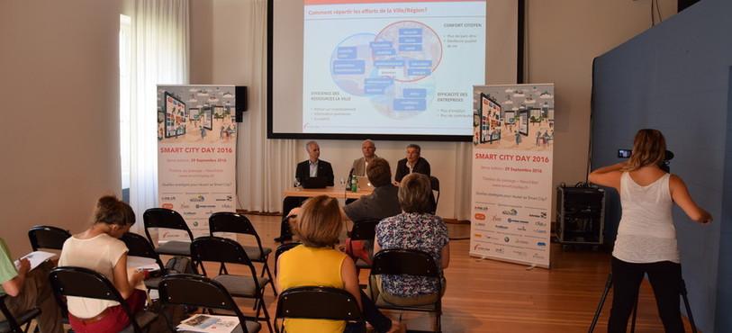 Plus de 200 décideurs de Suisse romande viendront présenter leurs projets et développements de ville intelligente.