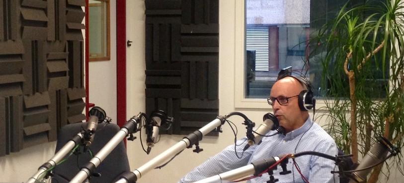 Christian Binggueli au micro de RTN
