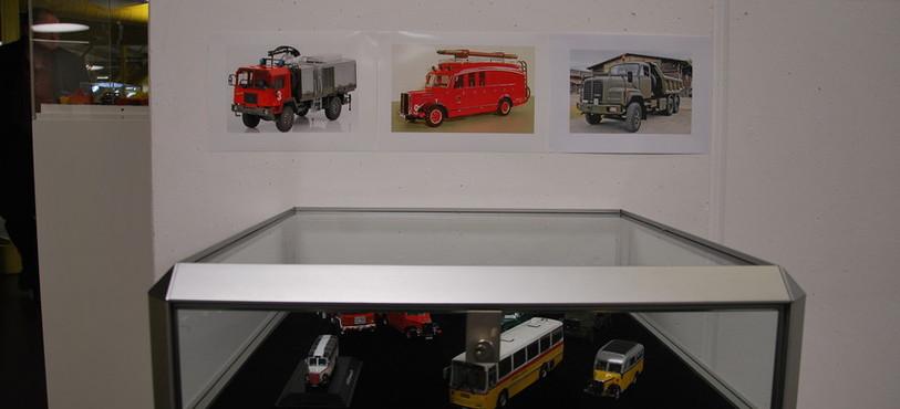 Les camions suisses en miniature
