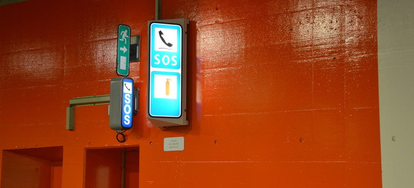 Signalisation tunnels sous Neuchâtel