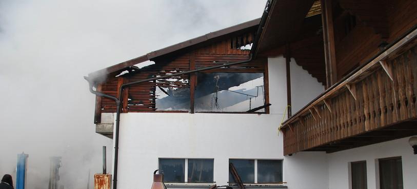 L'incendie s'est déclaré dans la grange mercredi matin
