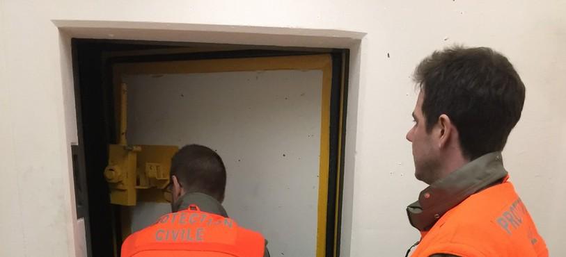 Les constructions protégées sont entretenues d'une manière régulière par la protection civile.