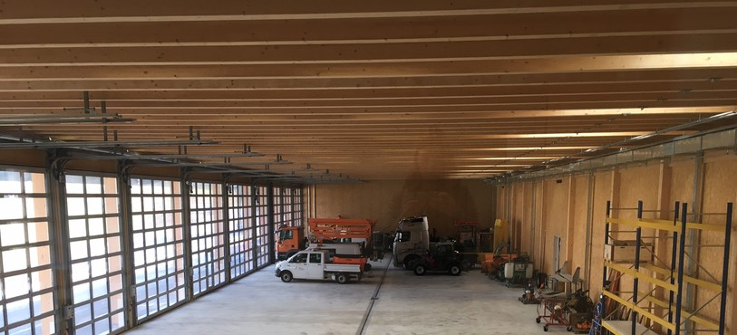 Le nouveau centre d'entretien de Loveresse est opérationnel depuis le 20 février et accueille une trentaine de collaborateurs