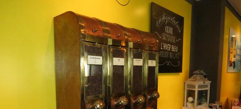 Boîtes à Cafés