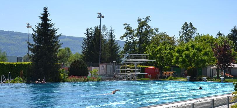 Les nageurs ont pu s'en donner à coeur joie...