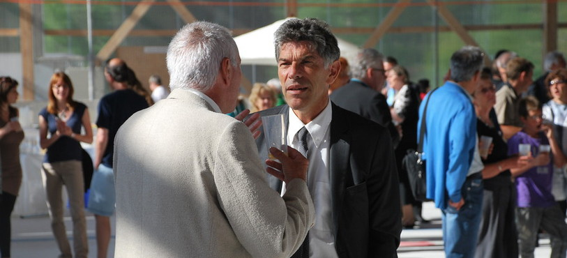 Le Conseiller d'Etat Philippe Gnaegi