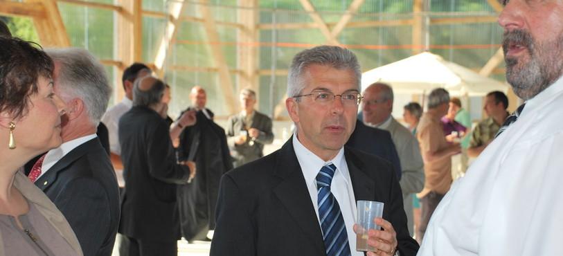 Le Conseiller d'Etat Claude Nicati
