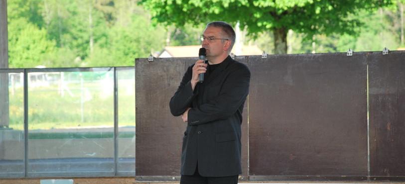 Denis de la Reussille, président du Conseil communal loclois