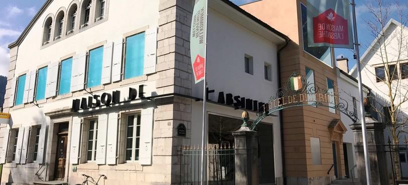 La Maison de l'absinthe.