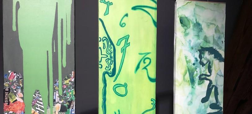 Les lycéens de Pontarlier exposent certaines de leurs oeuvres.