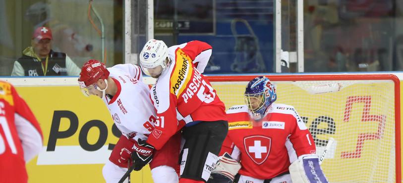Suisse - Danemark à Bâle (photo : Mauricette Schnider)