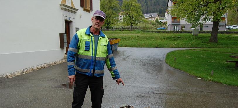 Christian Weber assure la collecte des déchets verts dans une partie du Val-de-Ruz.