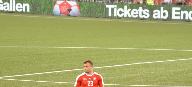 Xherdan Shaqiri, Nati, équipe de Suisse