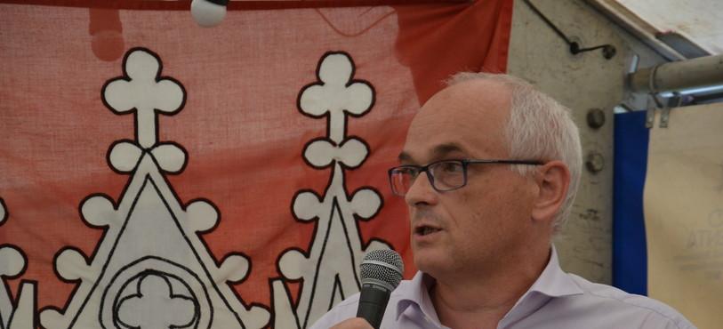 Le conseiller d'Etat Pierre Alain Schnegg