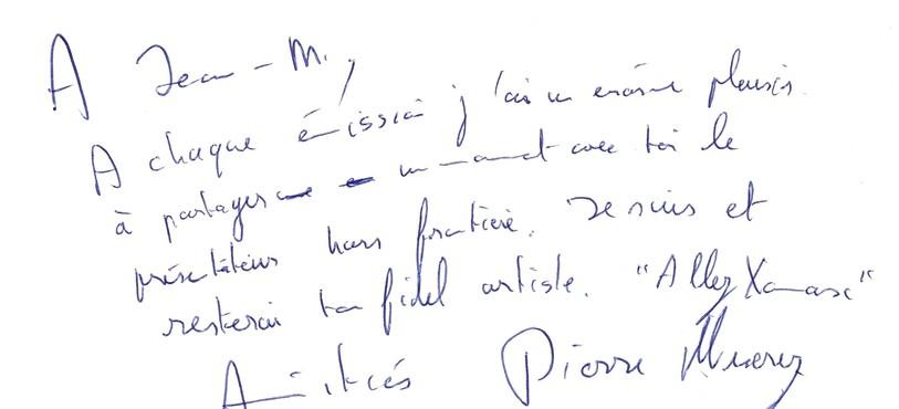 Signature Pierre Miserez