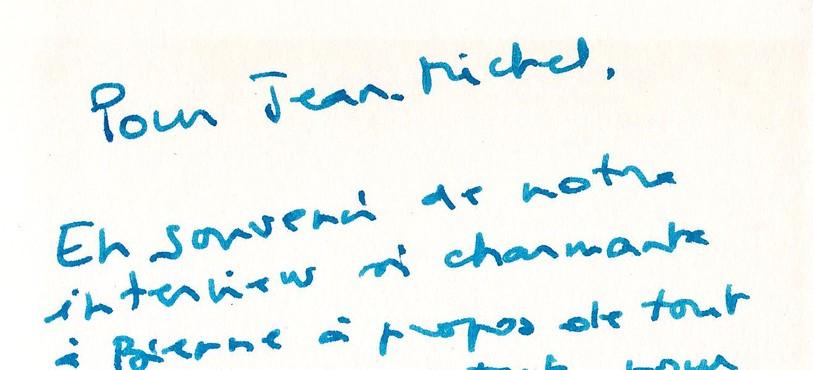 Signature Sylvie Joly