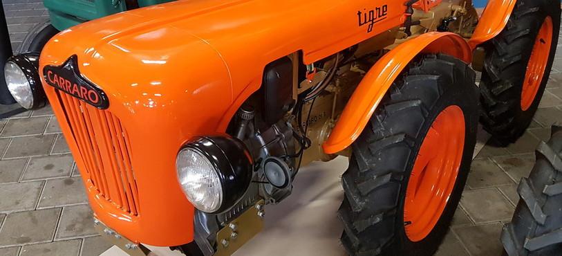 Musée agricole Grandfontaine, tracteur Carraro Tigre