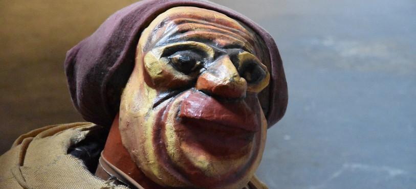 Marionnette créée par Léonard Félix