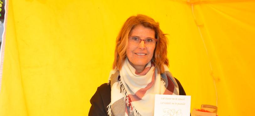Angelica Mendoça souffre de la maladie des enfants de la lune. Elle présentait son livre au Locle ce week-end.