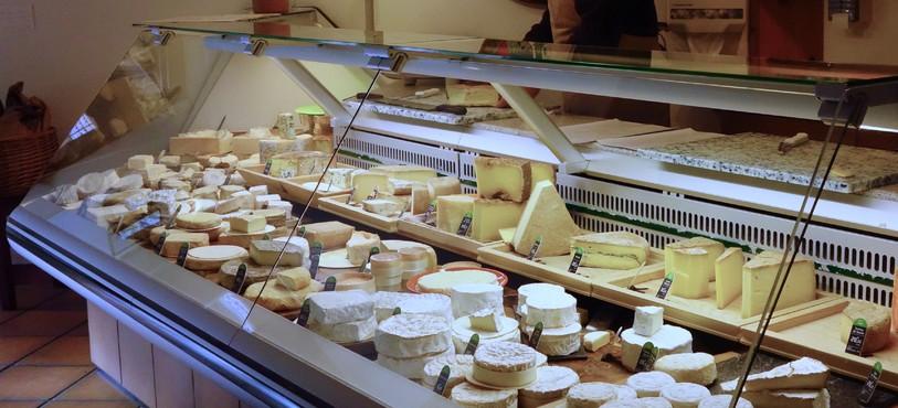 Comptoir à fromages