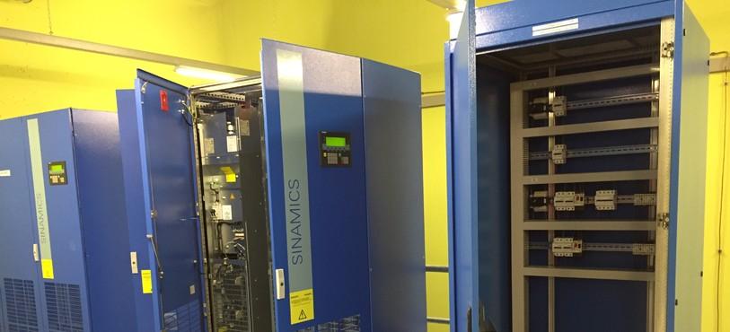 Le système de réglage de vitesse des ventilateurs Saccardo.