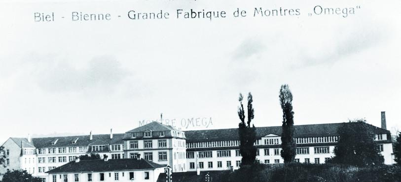 L'usine en 1910