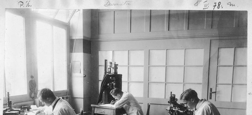 Le bureau technique horloger en 1913