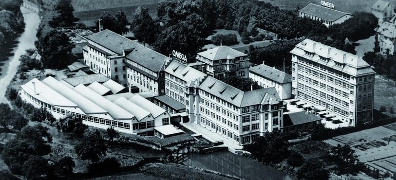 L'usine en 1950