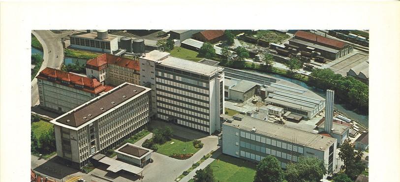 L'usine en 1965