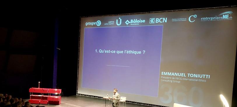 La 11e édition du Forum 360 a réuni plus de 400 cadres d'entreprises présentes dans la région au Théâtre du Passage de Neuchâtel.