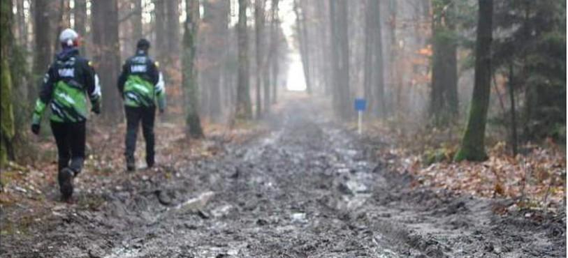 Une bonne dose de boue sur le parcours (photo : Séverine Boillat)