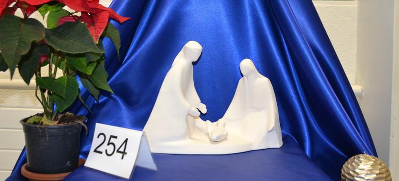 La crèche offerte par le Pape François