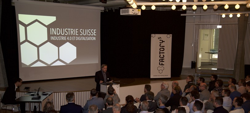 Samuel Vuadens a présenté son réseau Factory5 à Tramelan