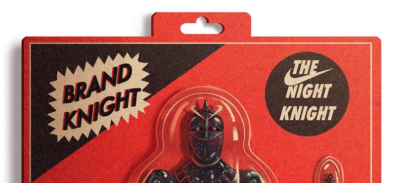 La première illustration de la série « Brand Knight »