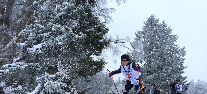 Deuxième étape des e-liberty NordiX games au Mont Crosin. (photo : Giron jurassien)