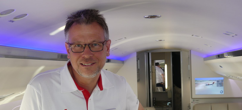 André Keisker - Médecin avion-ambulance