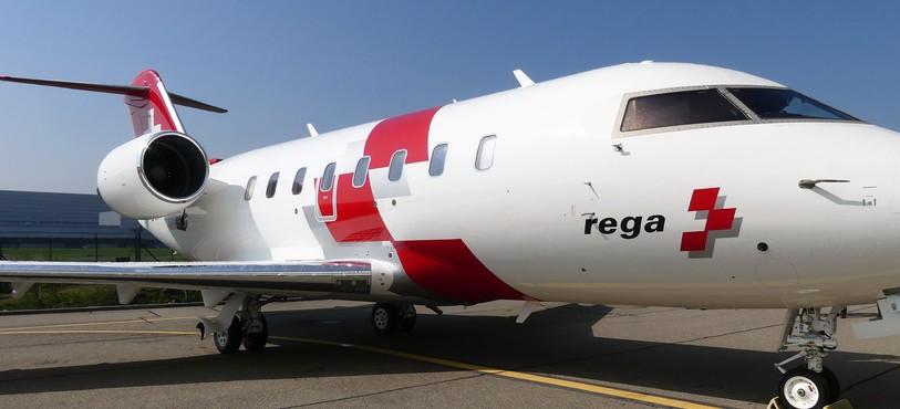 Avion-ambulance Bombardier Challeger 650