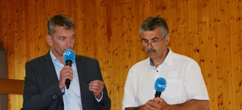 Stéphane Babey (à gauche) et Gérard Meyer