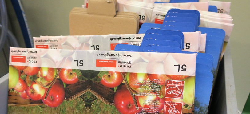 Pressoir à pommes à Glovelier