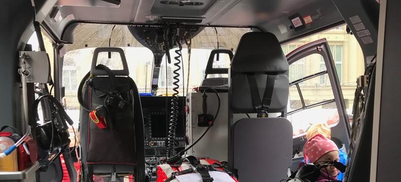 Intérieur du H-145