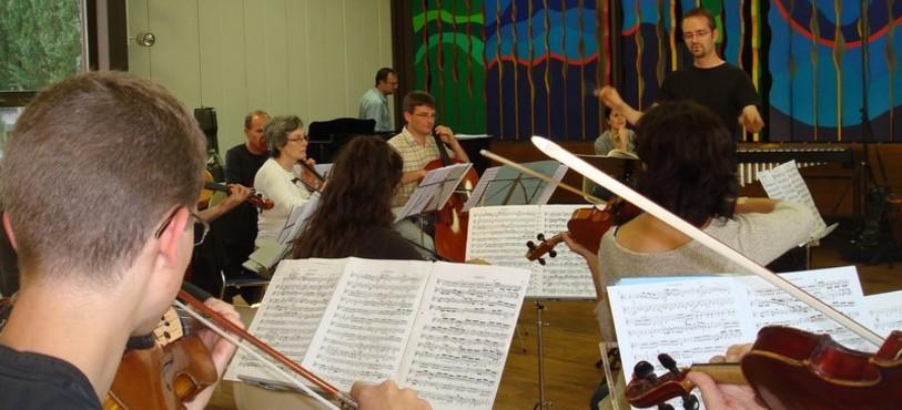 Hervé Grélat et Orchestre de Chambre Jurassien
